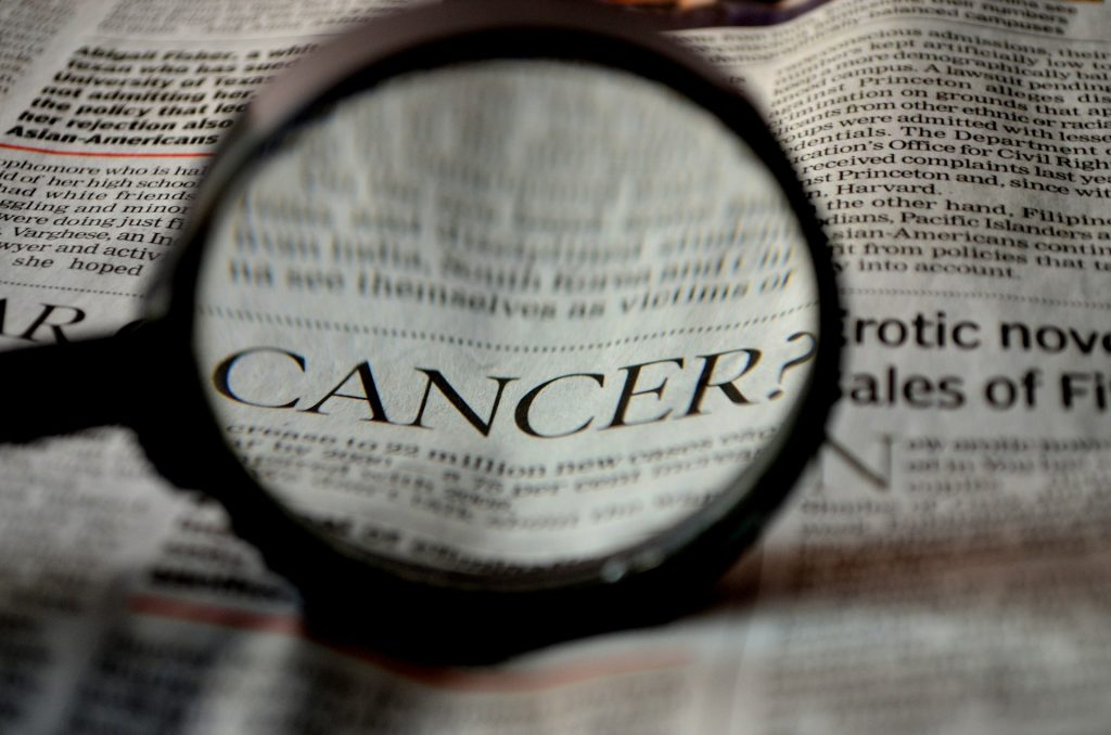 diagnosis and staging of cancer.