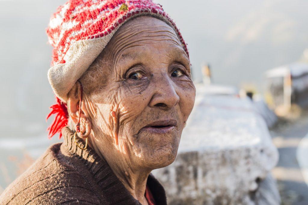 older female client