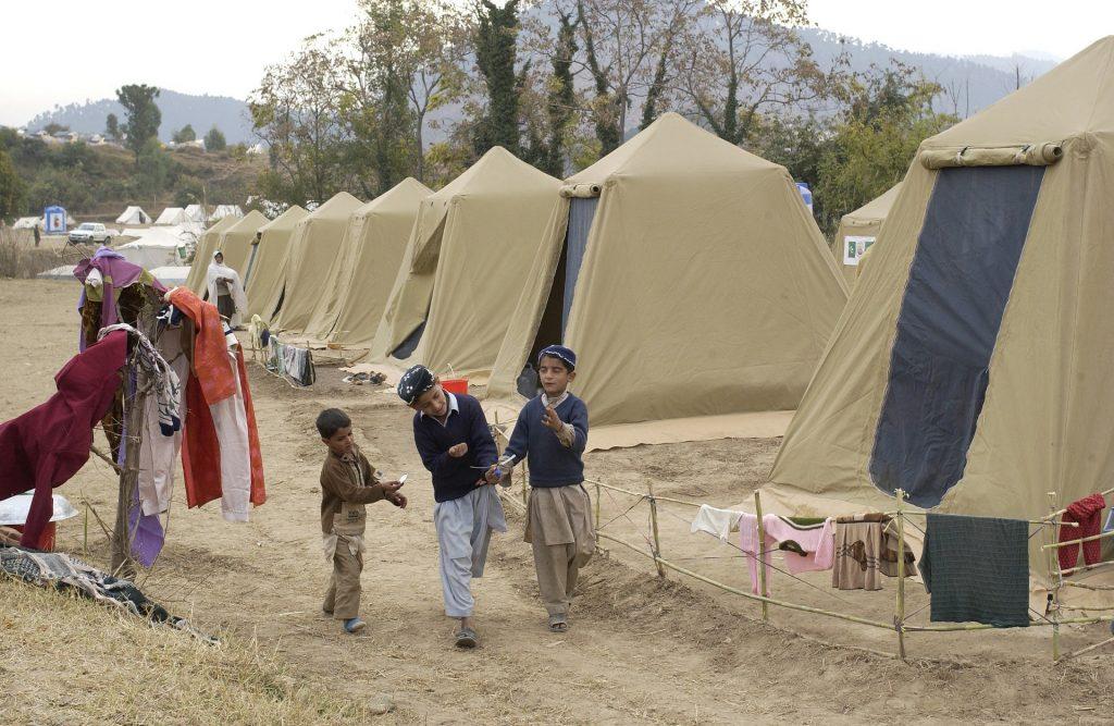 refugee resettlement camp
