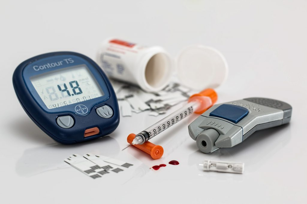 blood sugar levels decrease