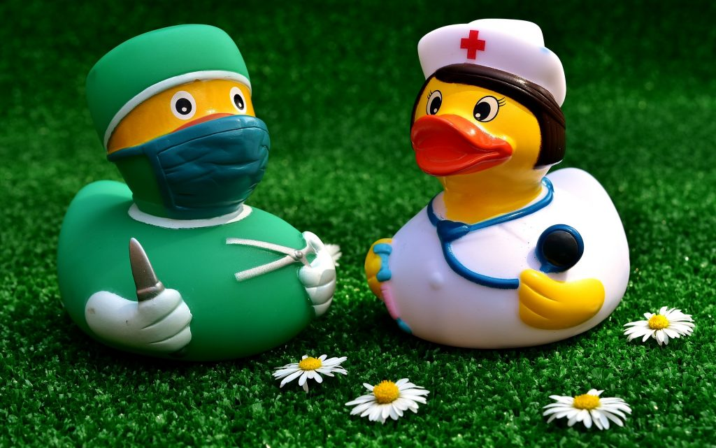 nurses from two different specialties